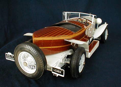 Fantom Boat Works by Rolls Royce Skiff 1 8 Scale Model