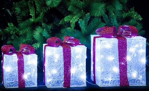 led christmas present decoration psoriasisgurucom