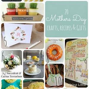 Mother's Day Gift Ideas - handmade crafts, DIY, and recipes