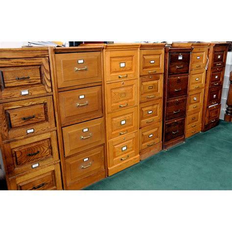 Fantastic Four Drawer Oak Filing Cabinet For Sale