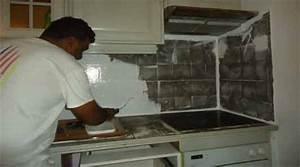 Peindre Faience Cuisine : peindre un carrelage sol de mural salle de bain fa ence de la cuisine ~ Melissatoandfro.com Idées de Décoration