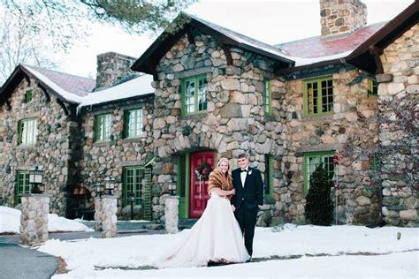 coziest winter wedding   england boston wedding