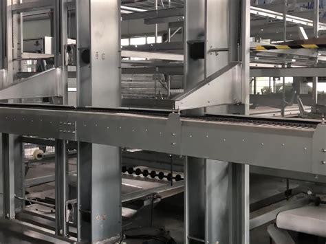 Battery Cage Design Layout Layer Semi Automatic