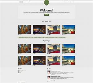 qq web development design gallery responsive template With big cartel store templates