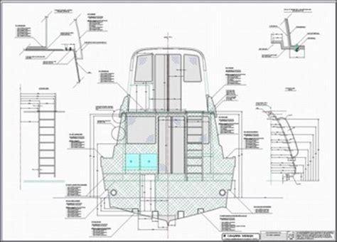 Sport Fishing Boat Blueprints by Tkp