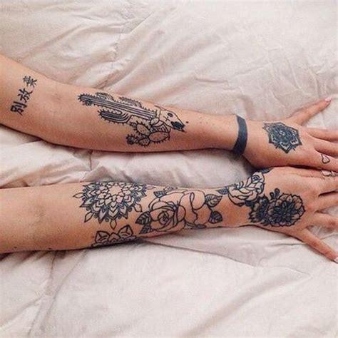 stunning rose sleeve tattoos flower tattoo ideas