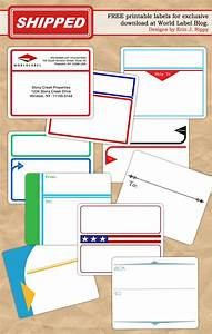 free printable labels templates label design With basic address labels