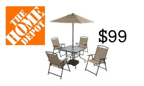 home depot 7 patio set 99 southern savers