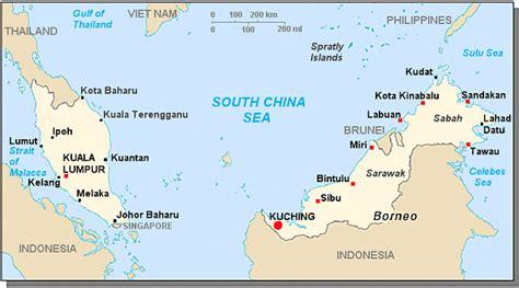 Bid Malaysia Large Map Of Malaysia