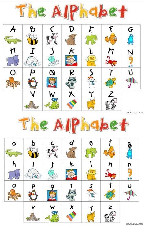 alphabet chart my kindergarten daily schedule and a free alphabet chart