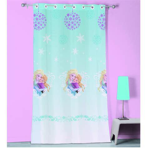 rideau chambre fille pas cher décoration chambre reine des neiges