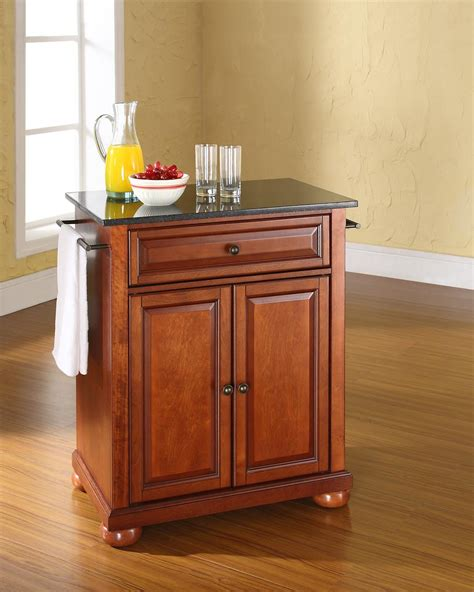 mobile islands for kitchens crosley alexandria portable kitchen island by oj commerce 7560