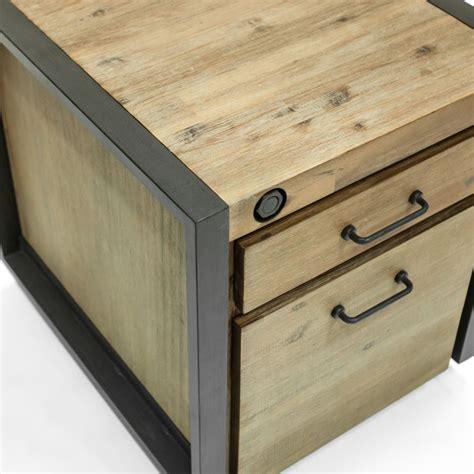 meuble bas de bureau meuble bas caisson de bureau à roulettes inspiration