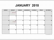 Calendar 2018 2019 2018 Calendar Printable with holidays