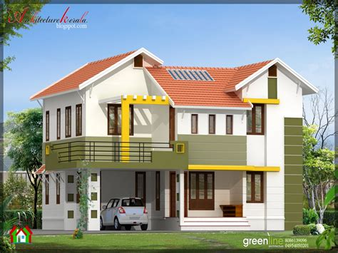 C.b. Home Design : Simple Modern House Designs Simple House Design In India