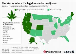 how many states is pot legal in