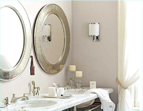 Framed Oval Bathroom Mirror by Oval Framed Bathroom Mirrors Best Decor Things