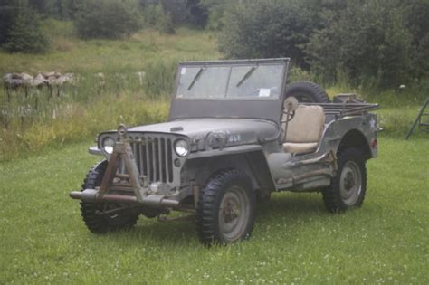 ford military jeep willys mb ford gpw wwii military army jeep from germany