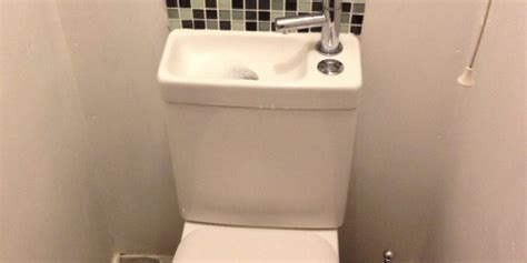 sink  toilet  ultimate space saver photo huffpost