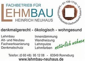 Wandheizung Berechnen : wandheizung mit lehmputz lehm trockenbau altbau lehmbau neuhaus ~ Themetempest.com Abrechnung