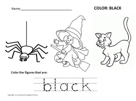Free Color Worksheets For Preschoolers  Coloring Page