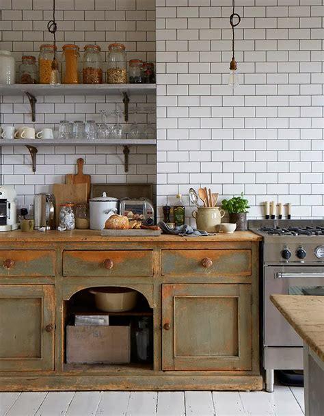 antique style kitchen cabinets los must de una cocina vintage victrix 4133
