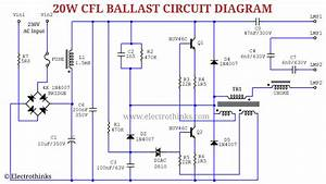 Cfl Bulb Circuit Working Explanation