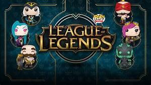 League of Legends lanzará su línea de figuras POP! SKGCL
