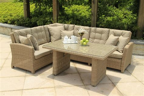 sofa dining set garden serenity lounge corner sofa casual dining set 990