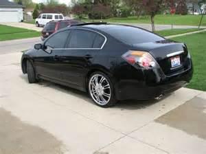 2008 Nissan Altima Black