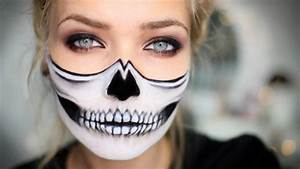 Maquillage Halloween Enfant Facile : maquillage pour halloween facile halloween maquillage ~ Nature-et-papiers.com Idées de Décoration