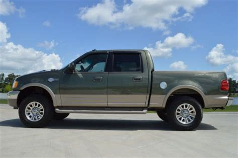 sell   ford   supercrew king ranch fx quad