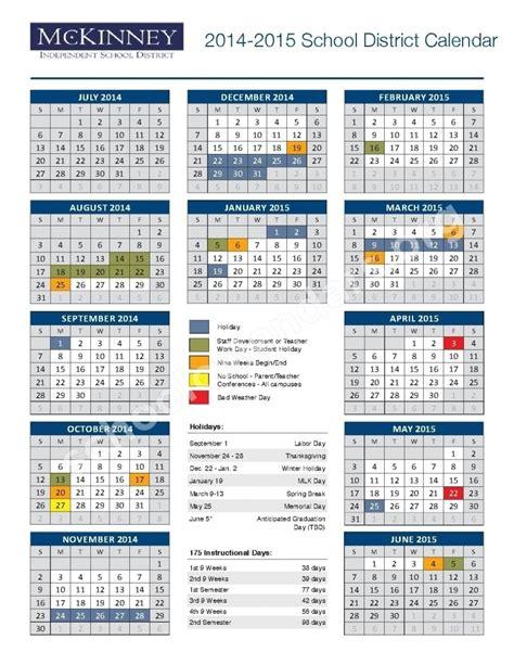 mckinney isd calendar qualads