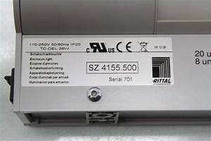 Rittal Sz 4155 500 Industrial Control Enclosure Light