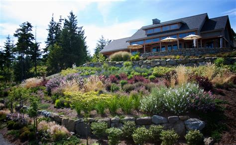 landscape hillside ideas hillside garden ideas landscape contemporary with mass planting stone retaining wall hillside garden