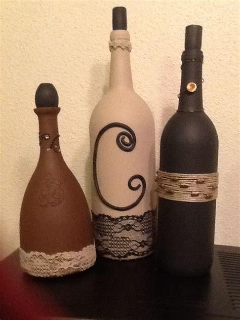 wine bottle wine bottles craft ideas pinterest