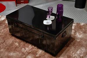 Table Basse Malle : table basse malle sur roulettes pierre henry l1000xprof ~ Melissatoandfro.com Idées de Décoration