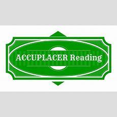 Accuplacer Reading Comprehension  Accuplacer Study Guide Youtube