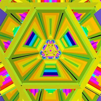 Loop Psychedelic Dmt Trance Geometric Hexeosis Gifs