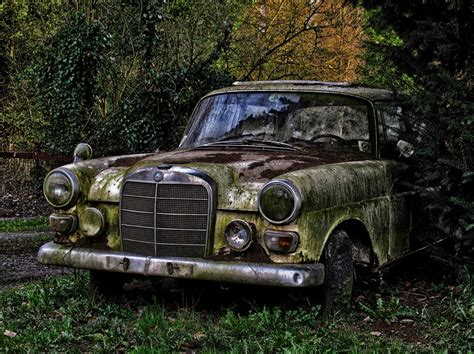 Rusty Old Car Hd Desktop Wallpapers 1653