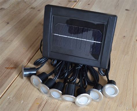 solar power led deck lights floor l stair light ip67