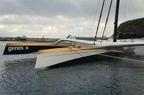 Trimaran Genes X spindrift matt s sailing page