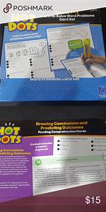 Hot Dots Learn To Solve Word Problems Grades1