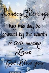 Winter Monday Morning Blessings