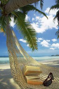 Tropical Beach with Hammock
