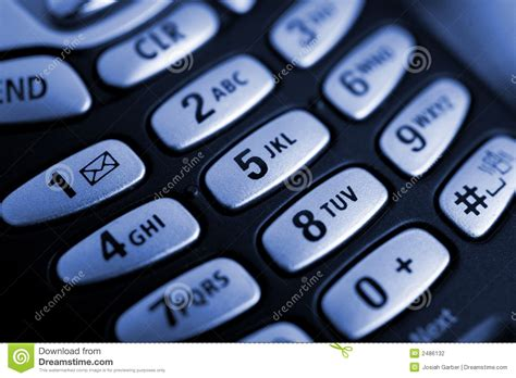 cell phone buttons stock photography image