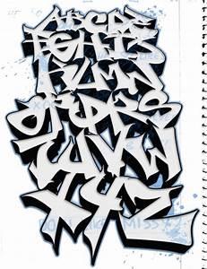 Graffiti Alphabet | Sketch ABC by dadouX Tedk One ...