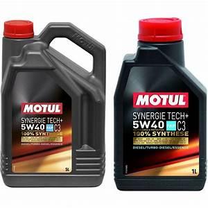 Huile 5w40 Diesel Leclerc : huile moteur motul synergie tech c3 essence diesel 5w40 ~ Dailycaller-alerts.com Idées de Décoration