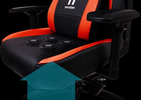 thermaltake x comfort air gaming chair with cooling fans