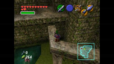 N64 The Legend Of Zelda Ocarina Of Time Forest Temple
